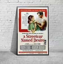 Vintage A Streetcar Named Desire Broadway Movie Film Poster Print Picture A3 A4