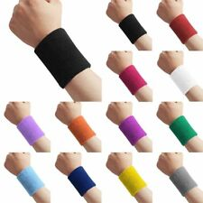 New Basketball Tennis Badminton GYM Sports Sweatband Exercise Wristband Arm Band