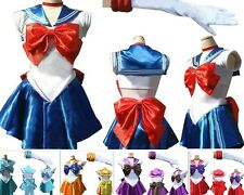 Sailor Moon Cosplay Costume Uniform Fancy dress Up Sailormoon Outfit & Glove