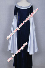 The Lord of the Rings Arwen Blue Dress Costume Tailor-made Accurately Designed