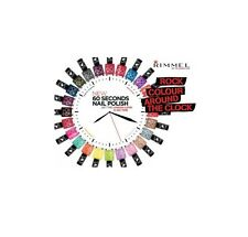 RIMMEL LONDON 60 SECONDS NAIL POLISH/ VARNISH 8ML BRAND NEW #CHOOSE YOUR SHADE