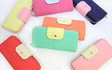 With Alice - LOVESOME WALLET L- Dual Side Bifold Clutch Ziparound Wallet Purse