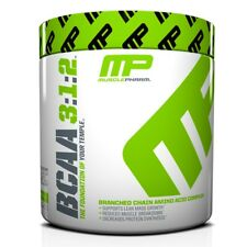 MusclePharm BCAA 3:1:2 POWDER - 30 Servings BUILD MUSCLE, LOSE FAT- PICK FLAVOR