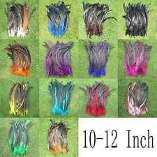 New 50Pcs OVER BADGER SADDLE ROOSTER FEATHERS ltos colors 10-12inch long U pick