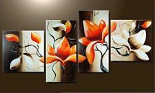Modern Abstract Huge Wall Art Oil Painting On Canvas,Flower (No Frame)