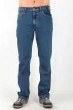 LEE Men's Jeans Straight Mid Stonewash