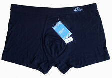 "High quality Mens Solid Color Underwear Bamboo Soft Boxers SZ US L 33""-40""#8508"