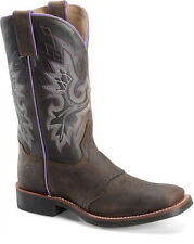 Womens Double-H Square Toe Work Western Boot