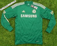 BNWT - Official Adidas Chelsea Goalkeeper Shirt - Boys - All Sizes -Green 8-14Y