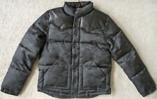 NWT True religion men's Nylon camo puffer jacket with leather