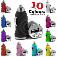 UNIVERSAL IN CAR USB BULLET MINI CHARGER TRAVEL COMPACT FOR VARIOUS MODEL PHONES