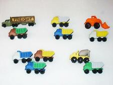 Dress it up buttons Construction Shovel Dump Freight Trucks WECOMBINESHIPPING