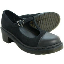 Dr. Martens Women`s Agynes Aggy T Bar Mary Janes BLACK ALL SIZES RARE!!!