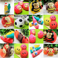 Soft Beer Bottle Lady Beetle Gorilla Pleasant Goat Pet Grinding Sound Rubber Toy