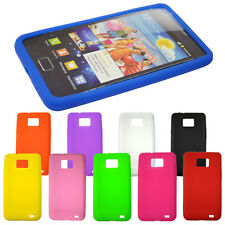 Hotsale Soft Silicone Back Protector Skin Case Cover For Samsung Galaxy S2 I9100