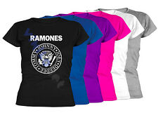 Camiseta RAMONES XXL- XL- L- M- S Sizes Lets Go Motero Hombre T-Shirt 04 Mujer