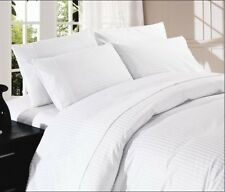 1000TC EGYPTIAN COTTON NEW BEDDING ITEMS-SHEET SET/DUVET SET/FITTED/FLAT  WHITE
