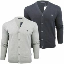 Mens French Connection FCUK Cotton Button Up Cardigan