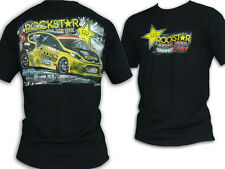 T-Shirt Energy Drink Sport Racing Global Rallycross Tanner Foust Fiesta Black