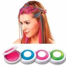 Colorful Quality Non-toxic Temporary Hair Chalk Dye Soft Pastels Salon Wash Out