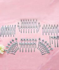 New Stainless Steel 88 Pc Flatware Set Service For 12 Choose From 3 Designs