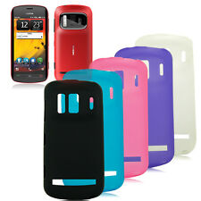 Glossy Frosted Soft TPU GEL Case Cover for Nokia 808 PureView RM-807
