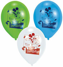Mickey Mouse Playful Party Latex Balloons 4 - 30pk