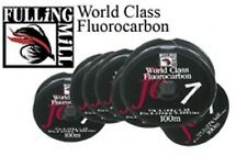 World Class Fulling Mill Fluorocarbon 50m & 100m Spools salmon ardent fly trout