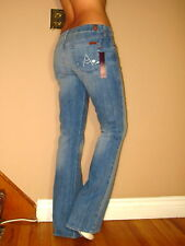 Seven 7 For All Mankind Crystal A-Pocket Flare Jeans Light-Medium Holland 29 NWT