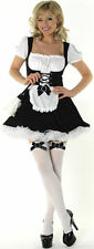 PEASANT MAIDS SEXY FANCY DRESS OUTFIT COSTUME, SIZE: S-XL
