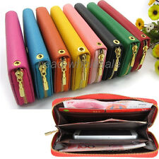 New PU Leather Wallet Clutch Phone Case for Galaxy S2 S3 S4 iPhone 4 4S 5 5S HTC