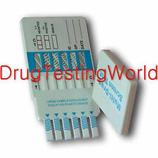 At Home Drug Test Kit 6 Panel Urine Testing Card THC OXY AMP mAMPOPI DOA-164-551
