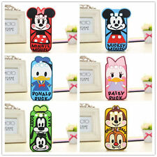 NEW Scrawl Cartoon Character Minnie Chip soft silicone case for Galaxy S3/S4/S5