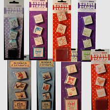 ALL NIGHT MEDIA RUBBER STAMP SETS WITH INK PAD