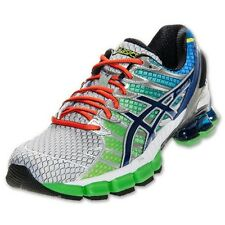 ASICS Men's GEL KINSEI 4 - SILVER/LIME/ROYAL - Hard To Find!!