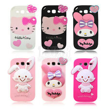 Best gift super cute cartoon silicon cover case  for Samsung Galaxy S3 I9300