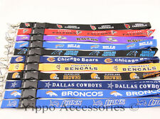 NEW NFL Football Team Lanyard,Keychain,Cell Phone, ID Badge Holder Necklace