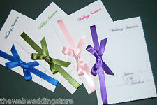 25 Invitation Mariage - Complet Assorti Suite De Stationery Disponible
