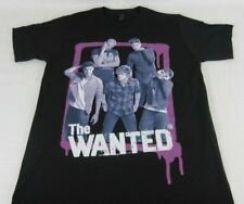 New Mens Black The Wanted US Tour 2013 T-Shirt Music Tee Any Size S M L XL
