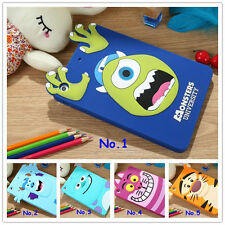 Cute 3D Cartoon monster university case covers for ipad mini Shockproof Skin