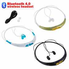 Bluetooth 4.0 Sport Waterproof Stereo Headset Earphone For iPhone SamSung LG HTC