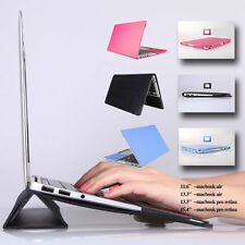 """Leather Sleeve Bag Skin Case Cover with Stand F MacBook Air Pro Retina 11 13 15"""""""