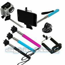Selfie Extendable up to 42 inches Monopod + Mount for Samsung Galaxy S3 S4 S5