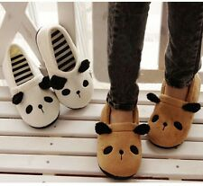 NEW Women Girl Carton Big Panda Indoor Anti-slip Slipper Warm Soft JSDT Adorable