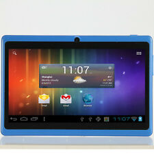 Q88 Cheap Tablet A23 7.0 Inch Capacitive Android 4.2 512MB 4G Blue Pink