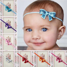 Newborn Girl Baby Sequins Bowknot Toddler Hair Accessory Headbands Hair band