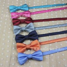 Boys Children Kids Pre tied Wedding Colorful Bow Knot Bow Tie Bowtie HJET2002