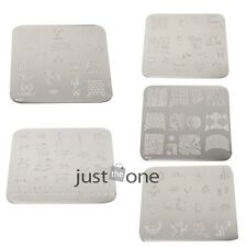 1PCS Chic Design Nail Art Image Stamping Plates Manicure Template Series 5Choice