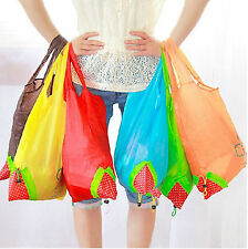 New Large strawberry strawberry shopping bag folding bags handbag bags 11 Color