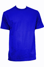 WHOLESALE BULK LOT 1 / 6 Mens Plain Short Sleeve T-shirt Heavy Big Sizes S-7XL